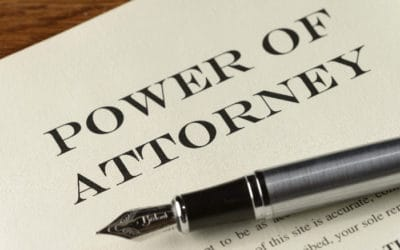 Power of Attorney?