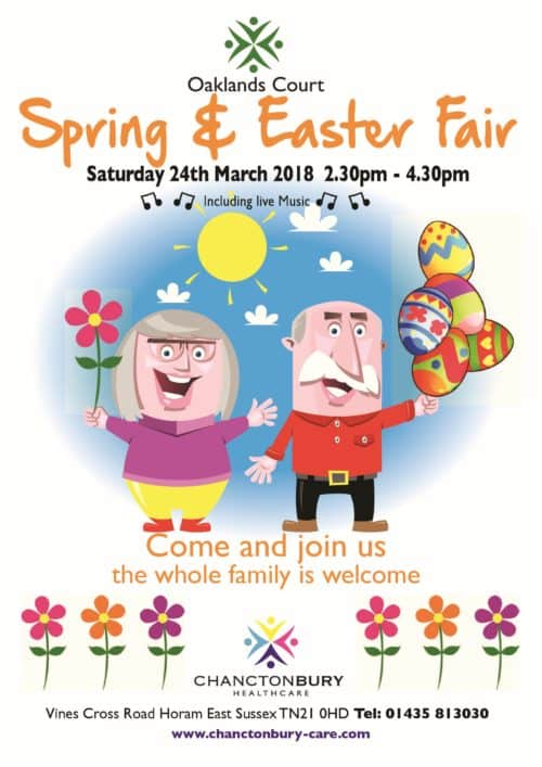 Oaklands Court Spring and Easter Fair